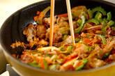 ガッツリ豚キムチの作り方8