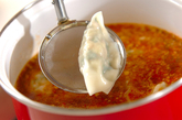 ピリ辛水餃子の作り方3