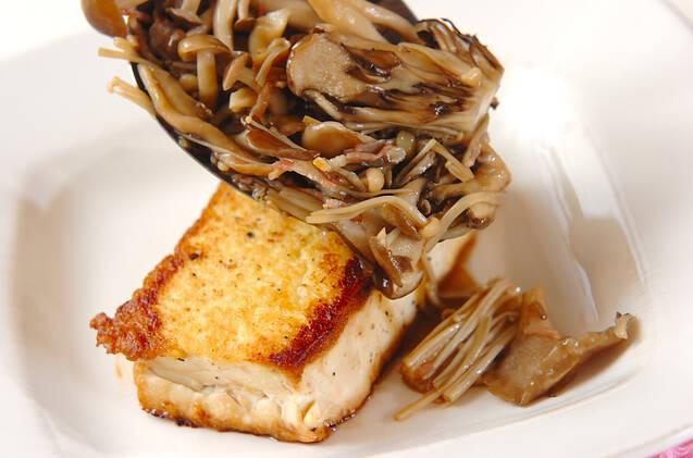 豆腐ステーキ・キノコソースの作り方の手順9