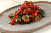 鶏レバーのピリ辛炒めの作り方7