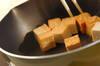 モヤシと厚揚げのオイスターソース丼の作り方の手順2