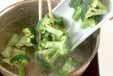 ブロッコリーの甘酢漬けの下準備1