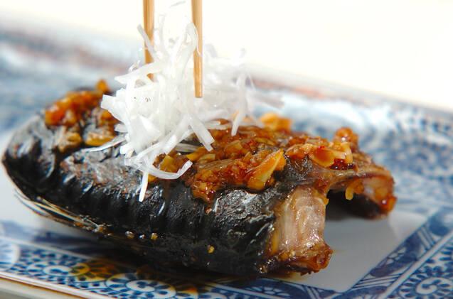 サバの香味照り焼きの作り方の手順6