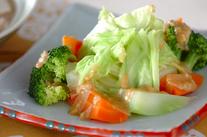 ゆで野菜・ゴマダレ