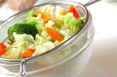 ゆで野菜・ゴマダレの作り方1