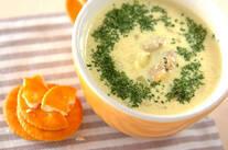アサリのカレースープ
