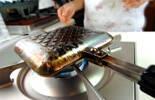 マーボー納豆チーズホットサンドの作り方5
