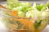 レタスのサラダの作り方5