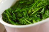 菜の花のタラマヨ和えの作り方2