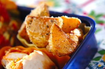 バジルチーズポテト