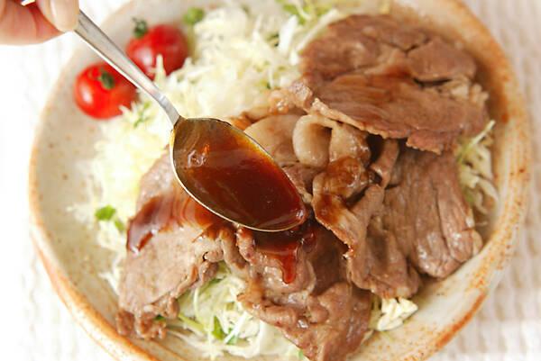 豚肉のショウガ焼きの作り方の手順6