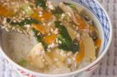 鶏ひき肉あんかけ丼の作り方4