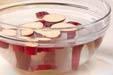 サツマイモの甘煮の下準備1