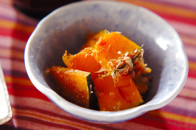 カボチャのレンジ煮