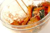 カボチャのレンジ煮の作り方4