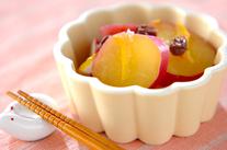 サツマイモのママレード煮