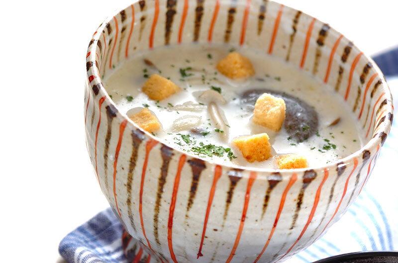 きのこミルクスープ