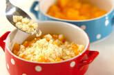 黄桃のクランブルの作り方5