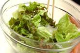 サニーレタスのサラダの作り方7