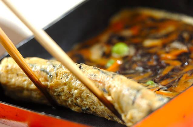 ヒジキ入り卵焼きの作り方の手順7