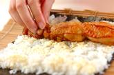 鶏の照り焼き唐揚げのり巻きの作り方3