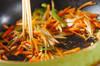 ゴボウと松の実のきんぴらの作り方の手順5