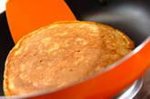 ニンジンのもちもちパンケーキの作り方5