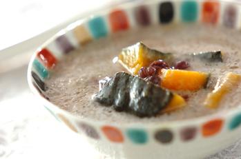 カボチャのココナッツ汁粉