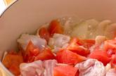 鶏ももトマト煮の作り方2