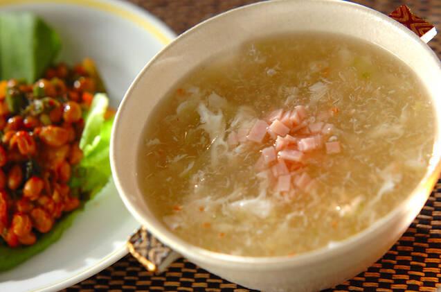 冬瓜とカニのスープ