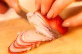 タイ風牛肉の激辛サラダの下準備1