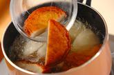 カブと練り物の煮物の作り方1