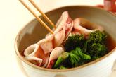 イカと菜の花の煮物の作り方2