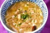 ささ身の卵スープ