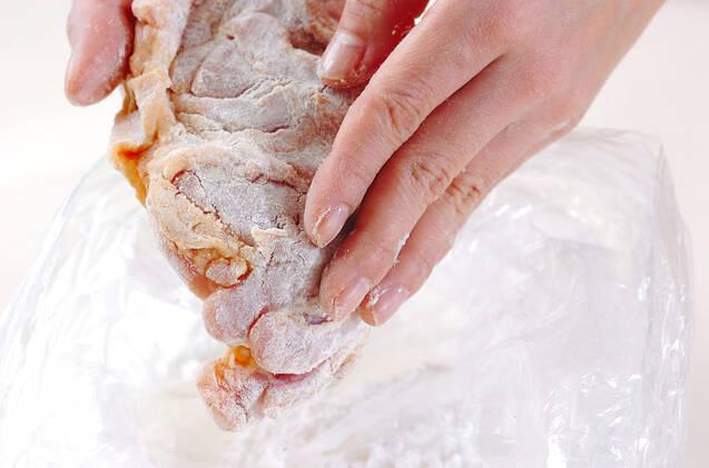 鶏肉のみそ風味揚げの作り方の手順5