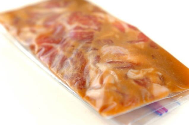 前日準備で朝ラク豚のみそ漬け弁当の作り方の手順2
