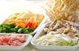 野菜炒め黒酢あんかけの下準備9