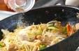 野菜炒め黒酢あんかけの作り方3