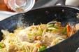 野菜炒め黒酢あんかけの作り方12