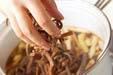 ゼンマイの田舎煮の作り方7