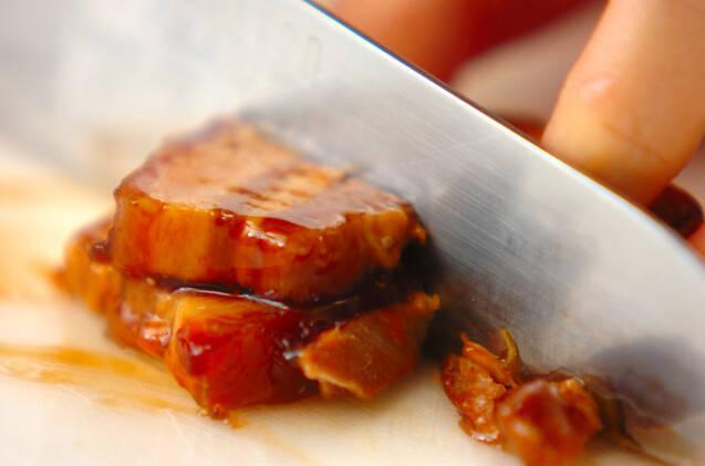 角煮サンドの作り方の手順1