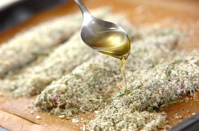 アジの香りパン粉焼きの作り方の手順6