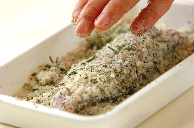 アジの香りパン粉焼きの作り方の手順5