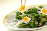 菜の花のニース風サラダの作り方3