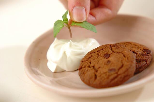 マスカルポーネ添えクッキーの作り方の手順2