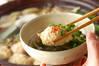 鶏つくね鍋の作り方の手順7