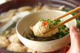 鶏つくね鍋の作り方7