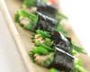 リコッタ豆腐の海苔巻きの作り方の手順
