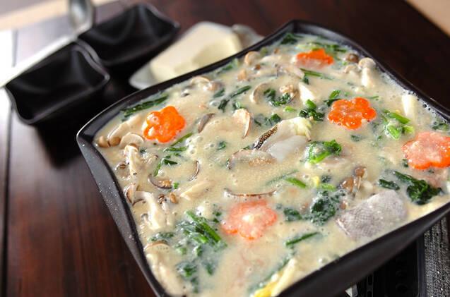 明太豆乳鍋