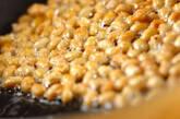 大豆とシイタケのバターじょうゆ炒めの作り方4